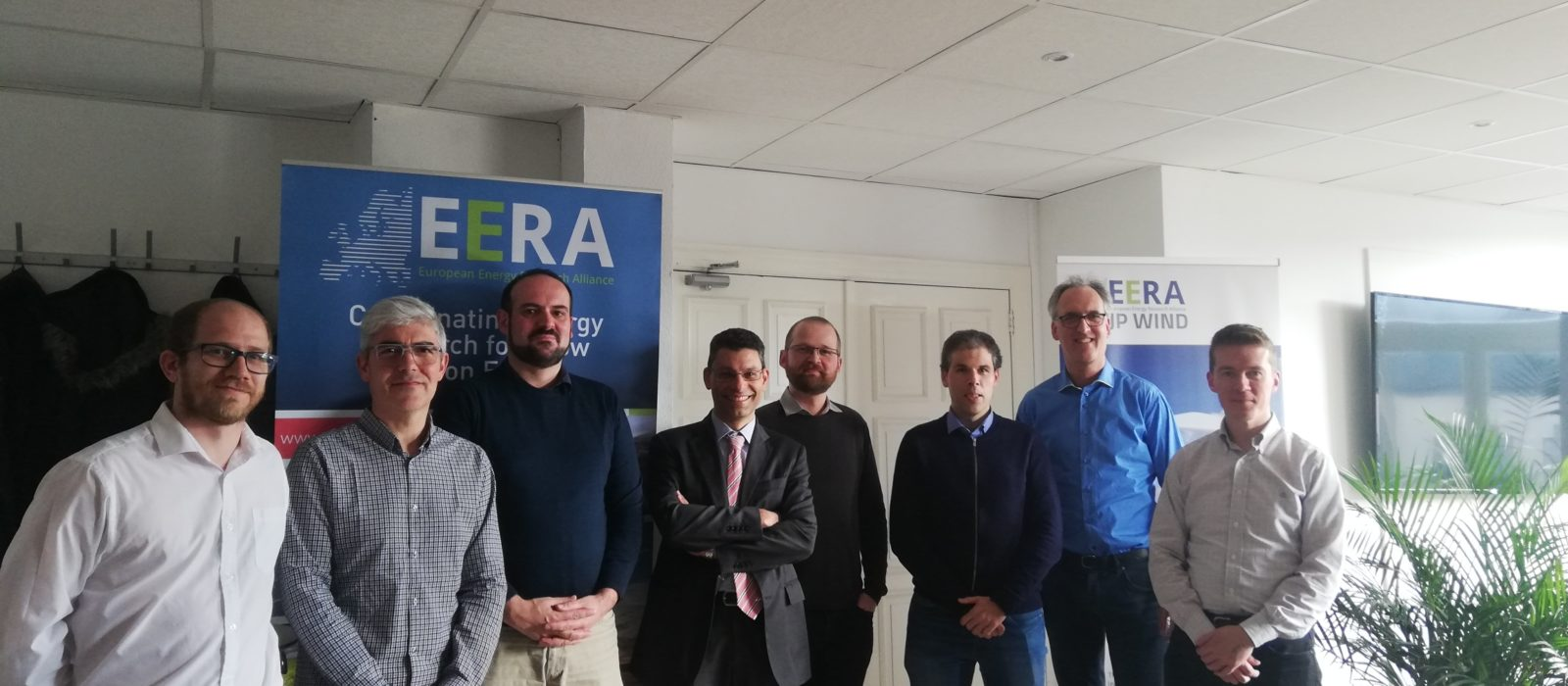 With a dedicated group of EERA JPWind members in Brussels and others through webex, we got a good meeting to discuss R&I priorities for wind energy.