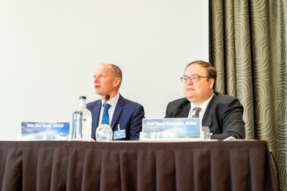 Conference chairs: John Olav G. Tande, SINTEF and Prof. Trond Kvamsdal, NTNU